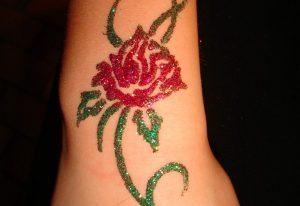 tatouage paillette